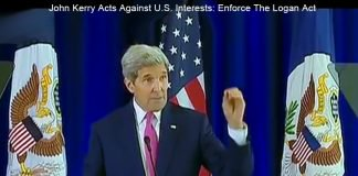 john kerry violates logan act.
