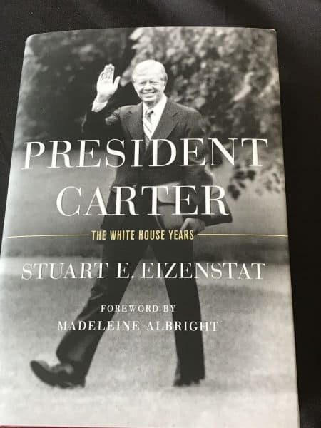 Stuart 'Stu' E. Eizenstat's book, 'President Carter: The White House Years'