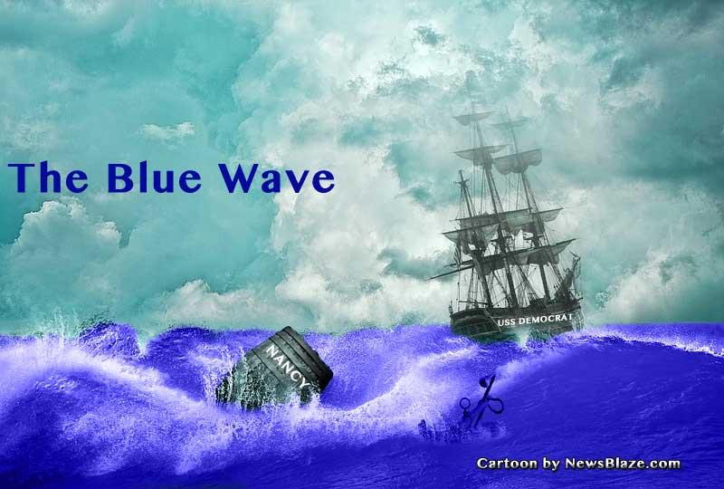 blue tide - the blue wave.