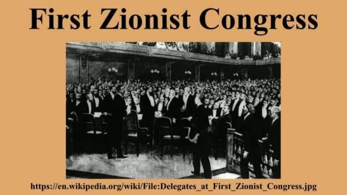 1st Zionist Congress - Zionism Vs the Oslo Accord