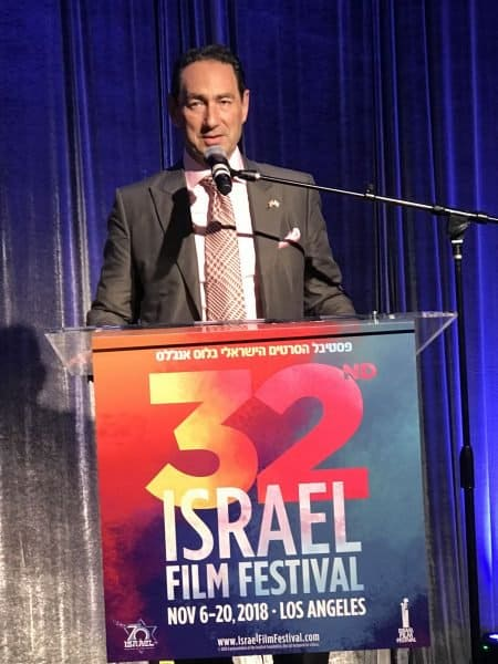 Adam Berkowitz Israel Film Festival 2018 Chairman. Photo by Nurit Greenger.