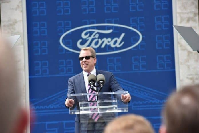 bill ford at ford train station.