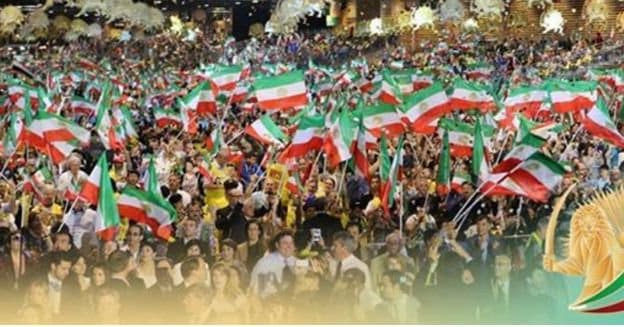 iran flags.