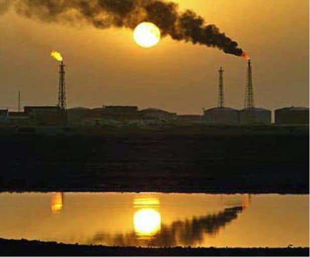 iran oilfields
