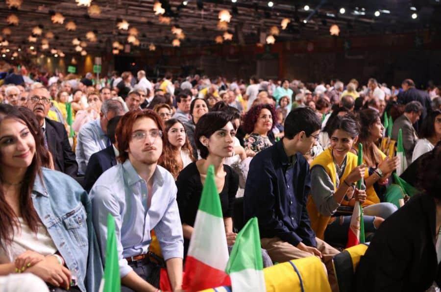 Iranian gathering