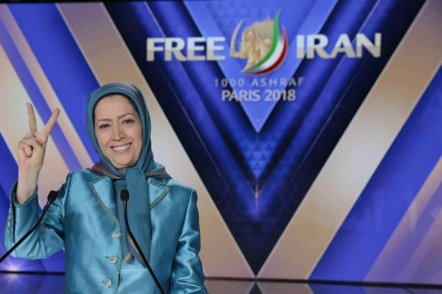 Iranian gathering with Maryam Rajavi