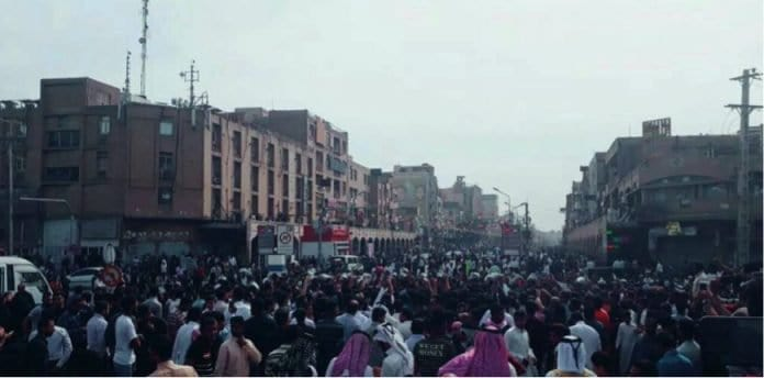 protests for regime change in iran.
