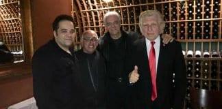 robert, angelo, tom, pete at la bruschetta
