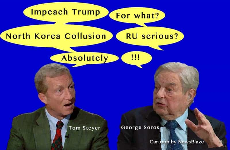 steyer soros trump impeachment