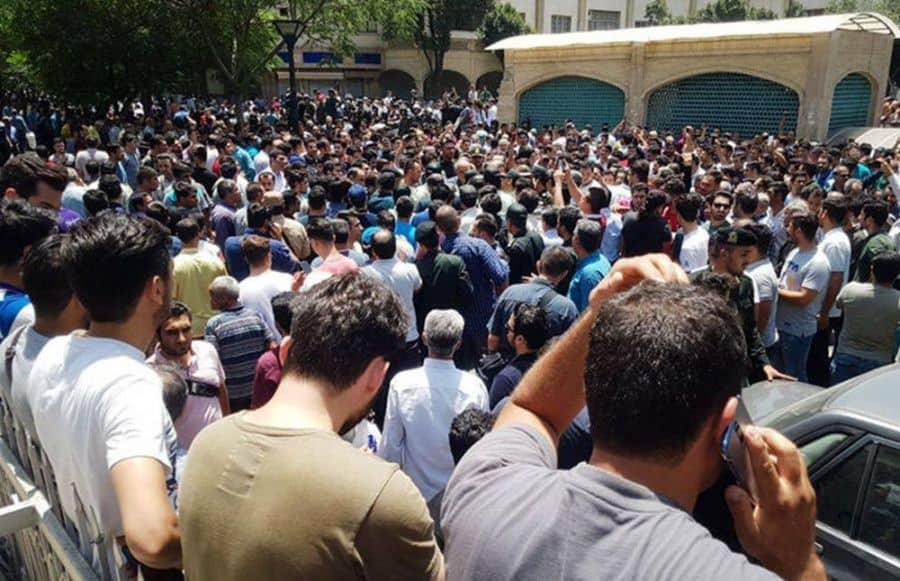 tehran people.