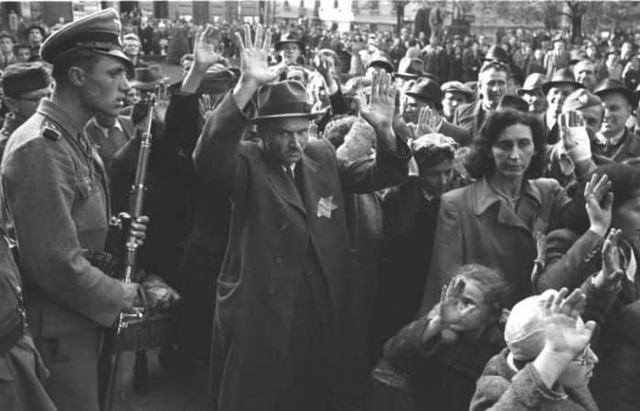 In WWII Jewish kids parade under Nazi gun threats