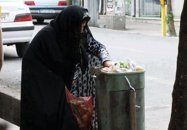 many women iran are in poverty