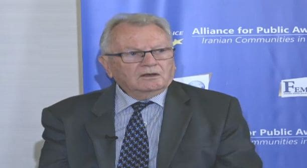 Yves Bonnet, former Governor and Head of France's Internal Security Service on Panel of Experts.