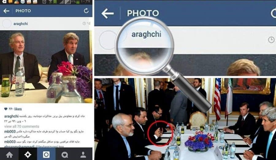Araghchi photo of John Kerry