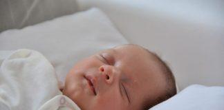 baby getting sound sleep