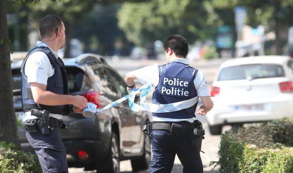 belgian police.