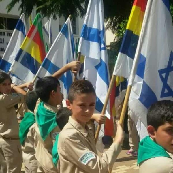 Druze scouts youth - Zionism in their blood