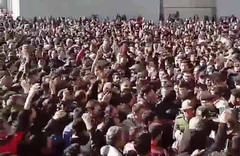 iran protests.