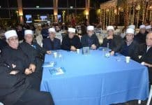 The Druze leadership who, in January 12, 2017, attended 70 years to covenant celebration in Caesarea-Photo Nurit Greenger