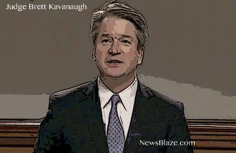 judge brett kavanaugh.