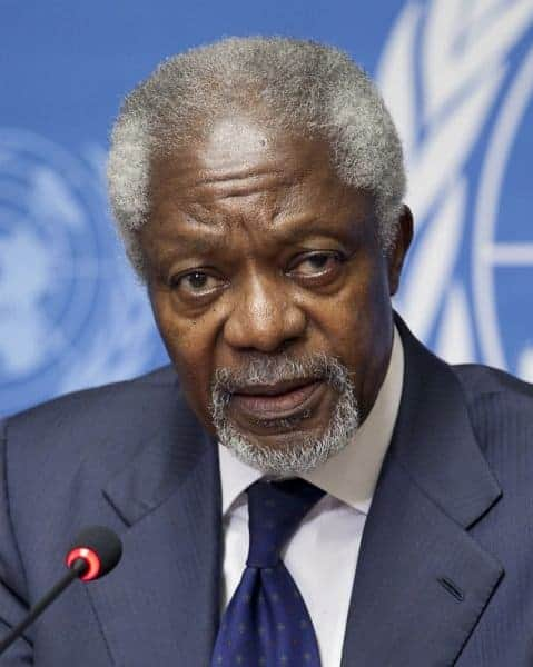 Remembering Kofi Annan: A Champion of Peace and Human Rights 1