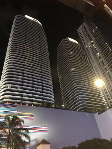 Miami skyline - Photo Nurit Greenger
