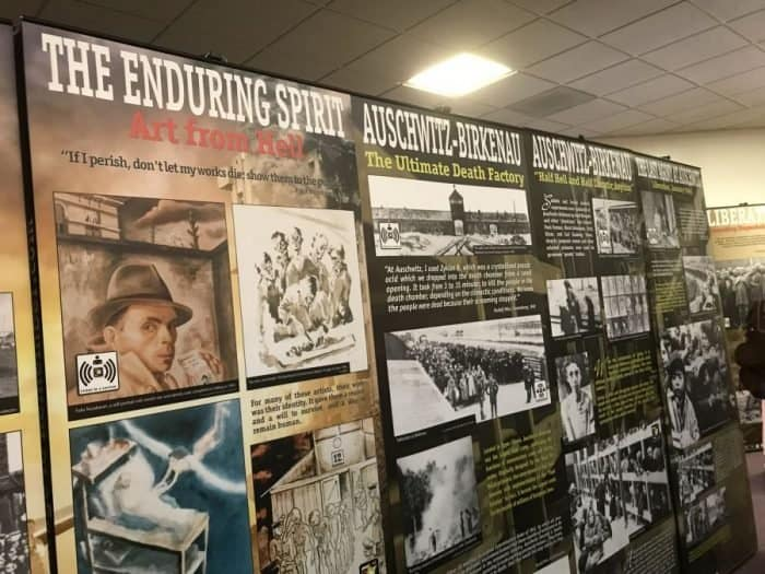 The Courage to Remember exhibit-Photo credit Nurit Greenger