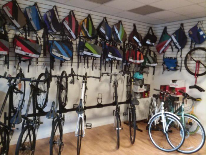 bikes inside joyride bikes.