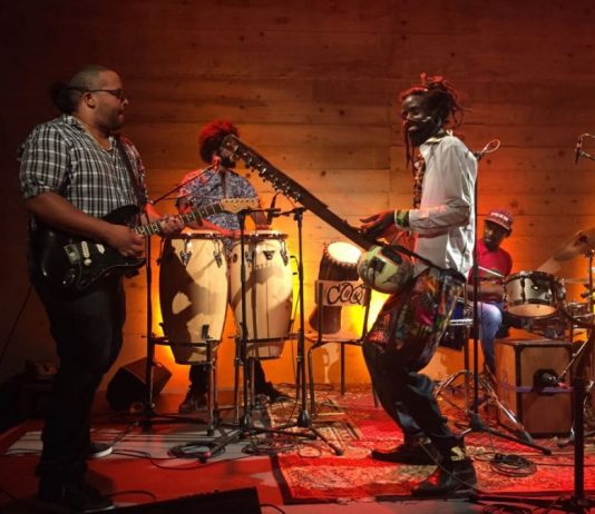 Boubacar Kafando and his Zaama-Nooma band