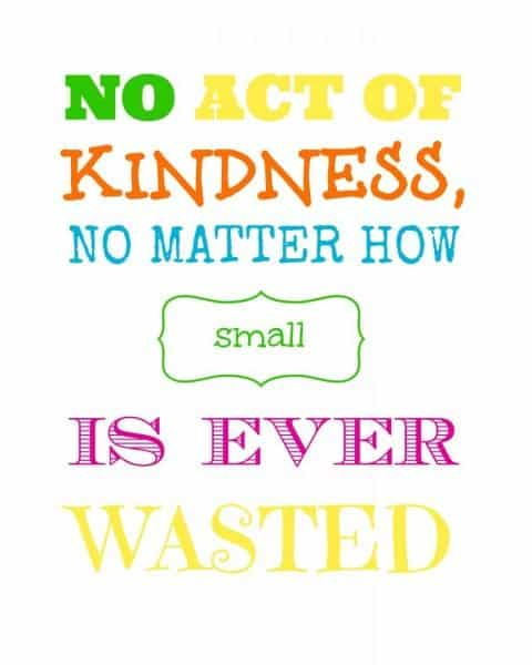 Generosity - an Act of Kindness
