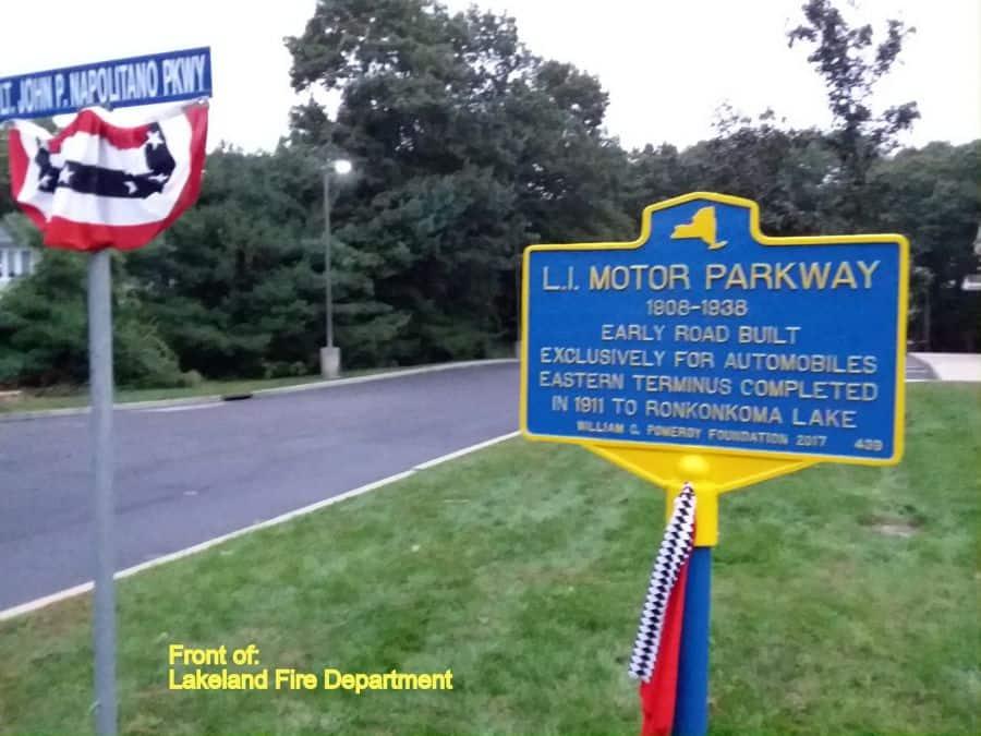 Parkway Marker