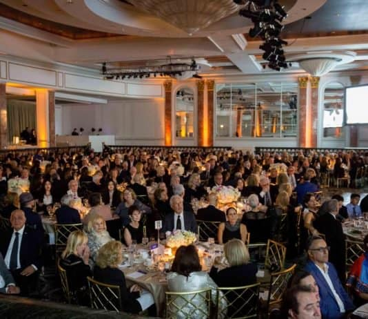 The gala guests