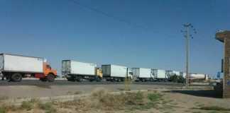 iran truckers on strike.
