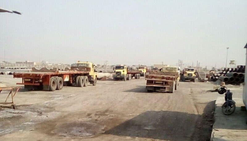 iran truckers strike.