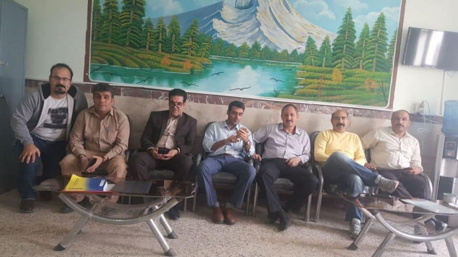 Teachers in kermanshah, Iran.