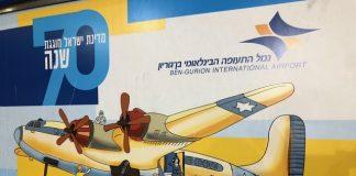 norma arrives in israel.