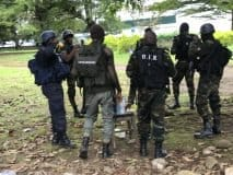 Our Cameroonian Military Security Detail