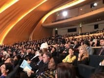 Forum audience at the Heydar Aliyev Convention Center
