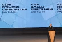 Ilham Aliyev, Republic of Azerbaijan President opens the Forum