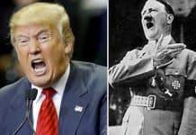 Trump + Hitler? Disgusting & shameful comparison.