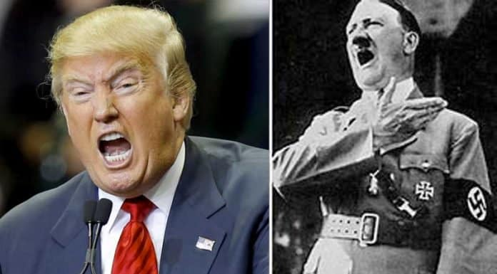 Trump + Hitler? Disgusting & shameful comparison.
