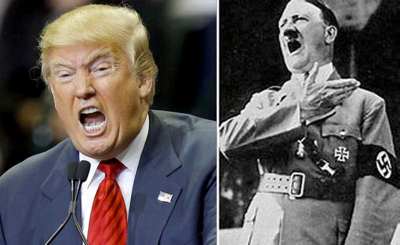 When They Equate Trump with Hitler - NewsBlaze News