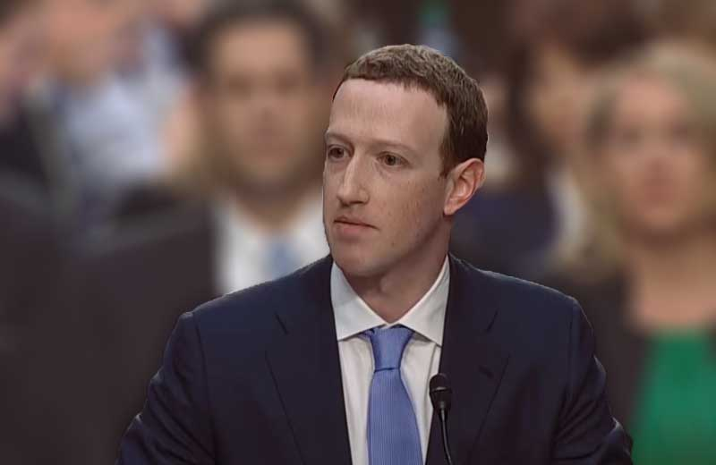 zuckerberg testifies about facebook glitch