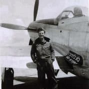 Angels In The Sky: Mitch Flint by his Israeli plane in 1948