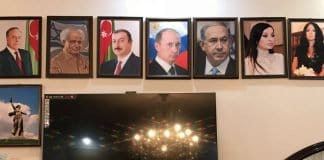 Firdovsi Sadikhov's home, a shrine to his father's history and the respect for Azerbaijan-Israel leaders