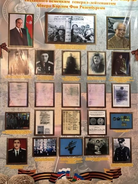 Firdovsi Sadikhov's home walls, a shrine to his father's history