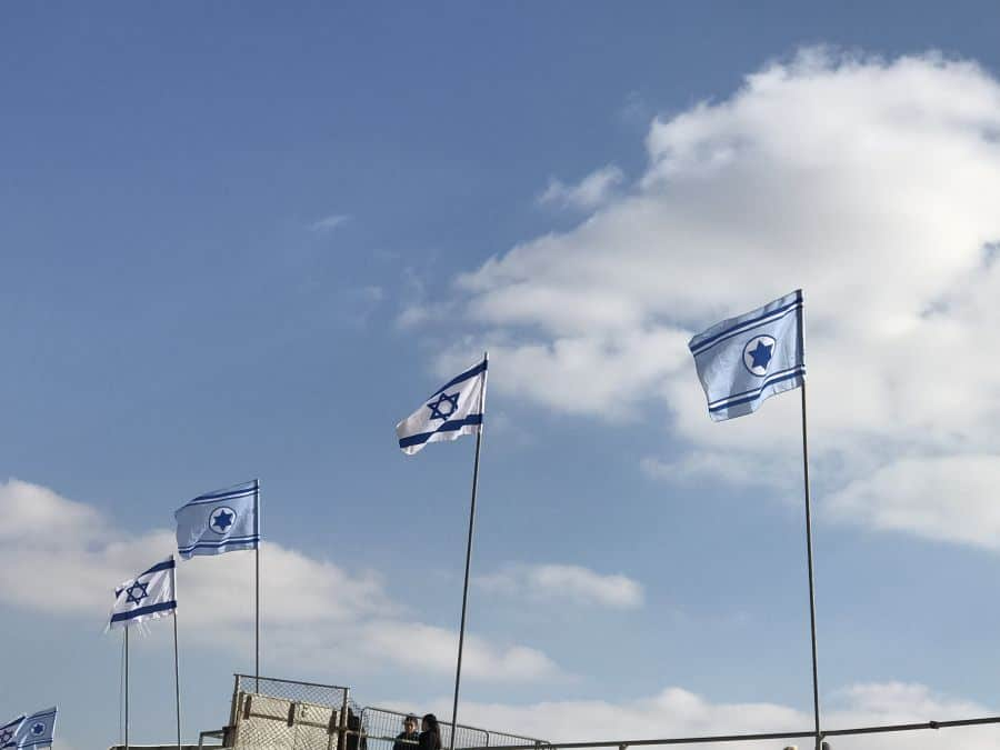 Israel's Arabs do not identify with the flag.