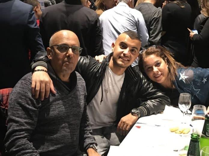 The Levy family - Avinoam, Yarin and Mor