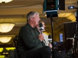 bill laimbeer at baseball meetings.