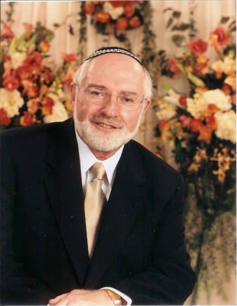 Rabbi Dr. Bernhard Rosenberg, Emeritus Congregation Beth-El.